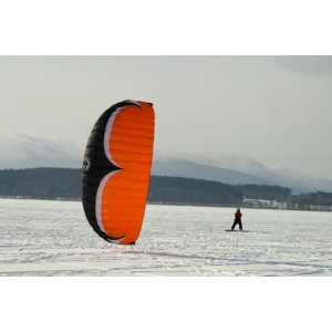 Snowkiting Orlické hory